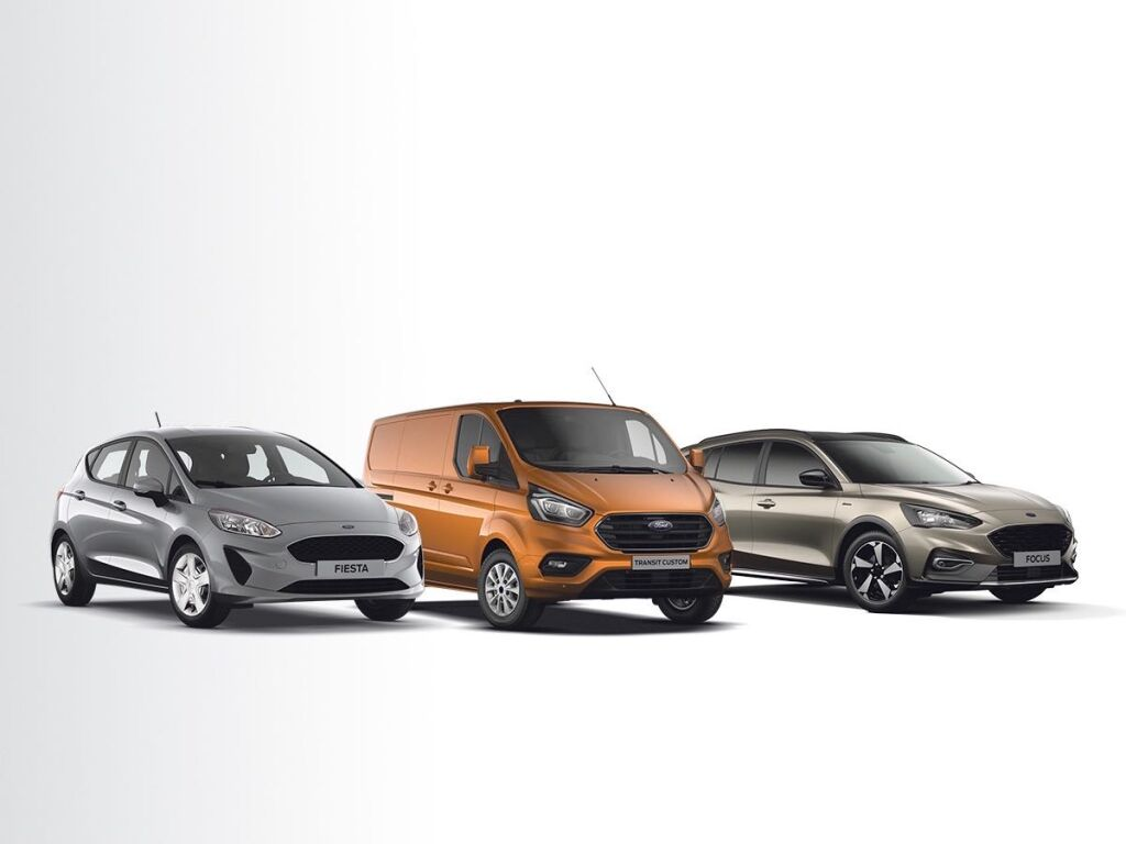 Ford-mallistoon 3 vuoden huollot kaupan päälle!