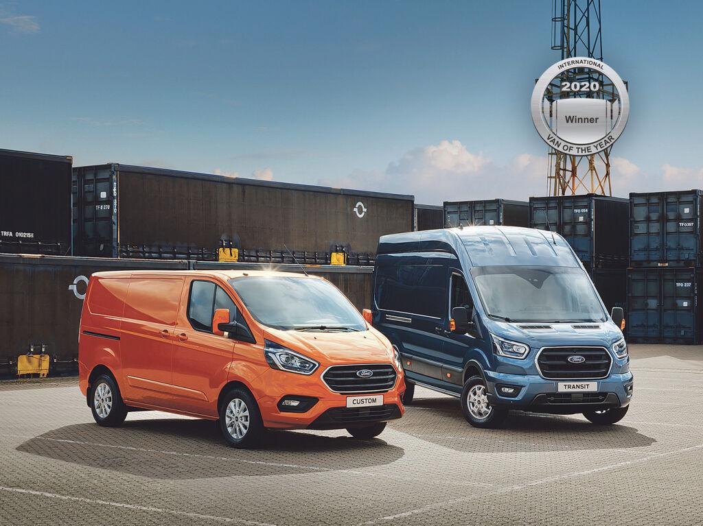 Ford – Suomen ostetuin pakettiautomerkki 2019