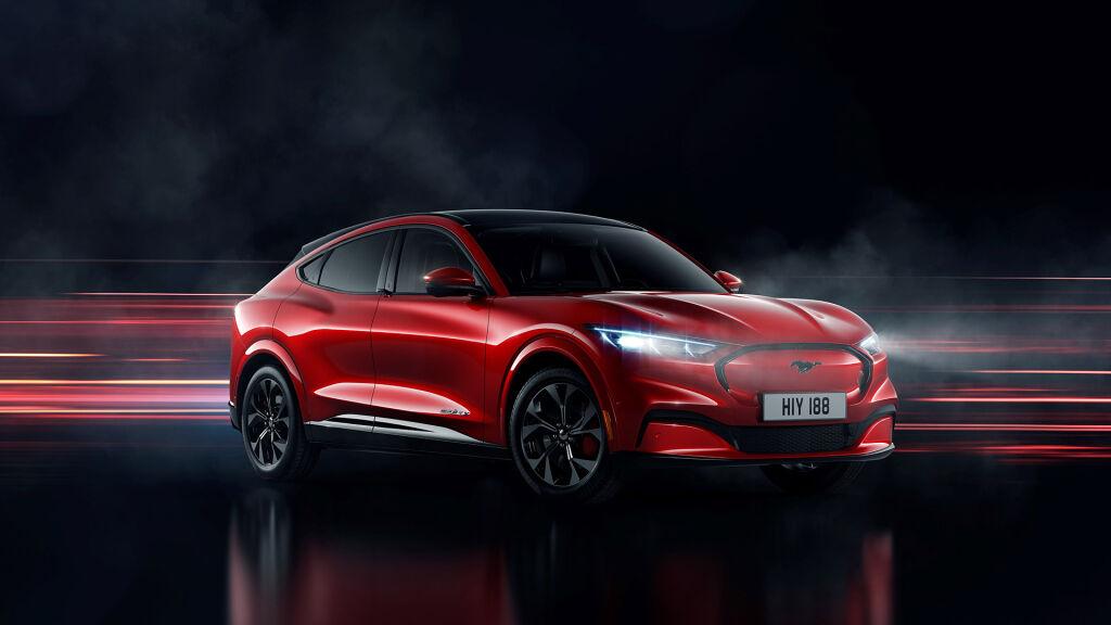 Uudet Ford Mustang Mach-E sähköautot J. Rinta-Joupilta!