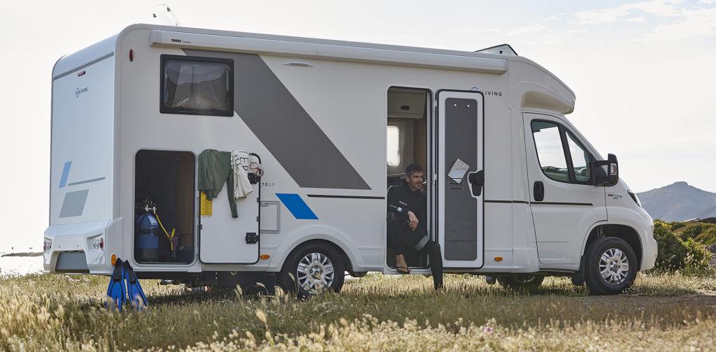 Rahoitustarjous erään uusia ja käytettyjä Sun Living matkailuautoja!