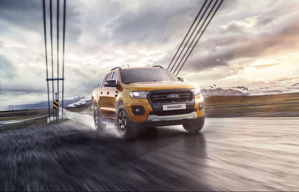 Uudet Ford Ranger -autot J. Rinta-Joupilta!
