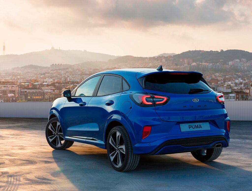 Uudet Ford Puma -autot J. Rinta-Joupilta!