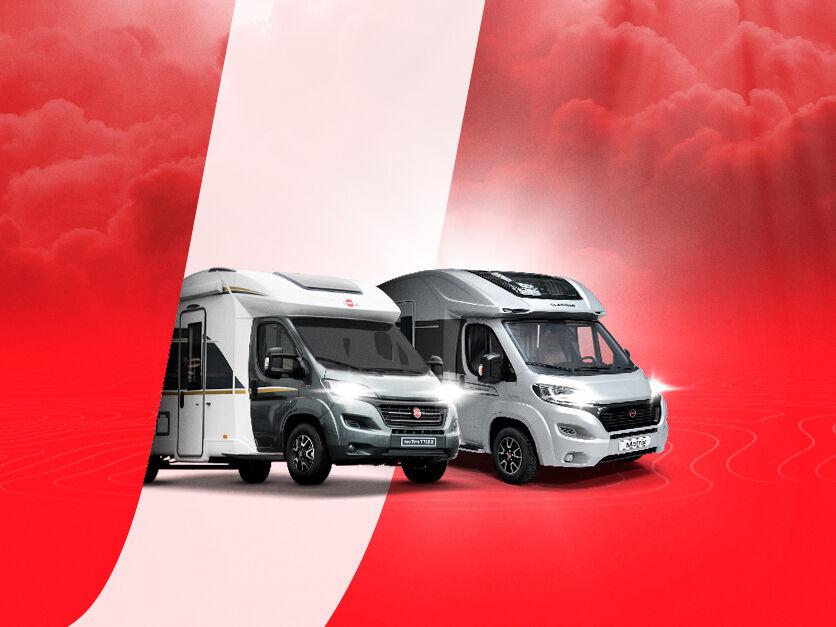 Uudet J. Edition -matkailuautot saatavilla vain J. Rinta-Joupilta!