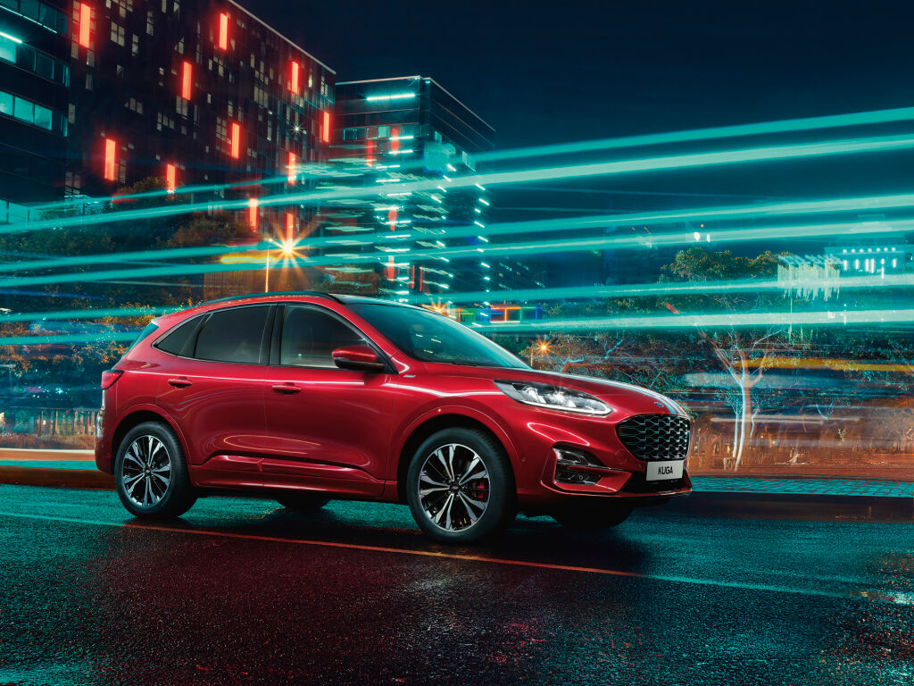 Ennakkotilaa uusi Ford Kuga Hybrid AWD 389 €/kk, käsiraha 0€!