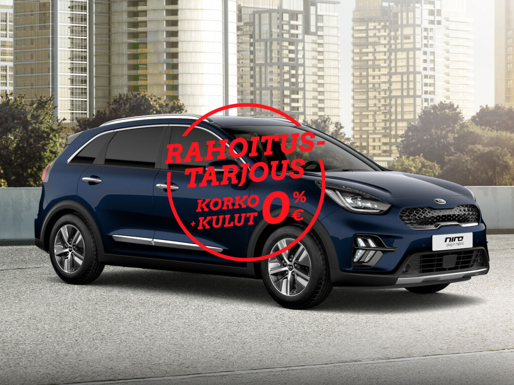 Uusi hybrid – Kia Niro LX alkaen 299€/kk ilman käsirahaa ja kuluja