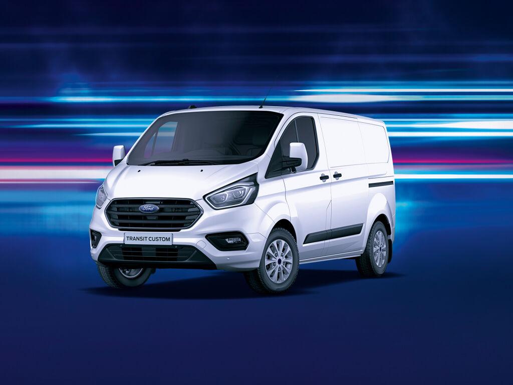 Ford Transit Custom automaattina kampanjahintaan esim. 399 €/kk ilman käsirahaa!