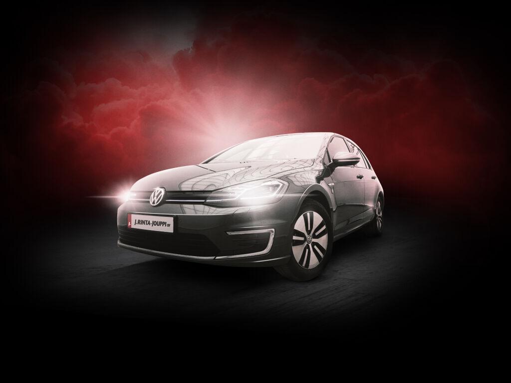 Erikoiserä kuin uusia Volkswagen e-Golfeja nyt huippuedullisesti!