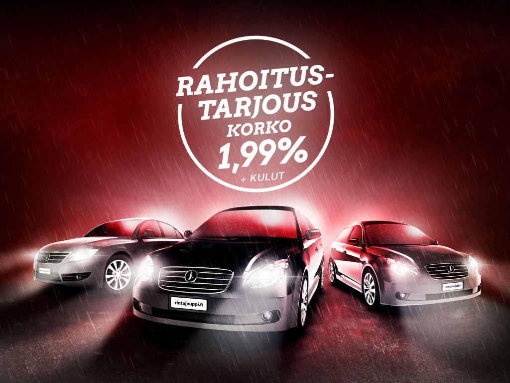 Korko 1,99 % + kulut isoon erään vaihtoautoja!