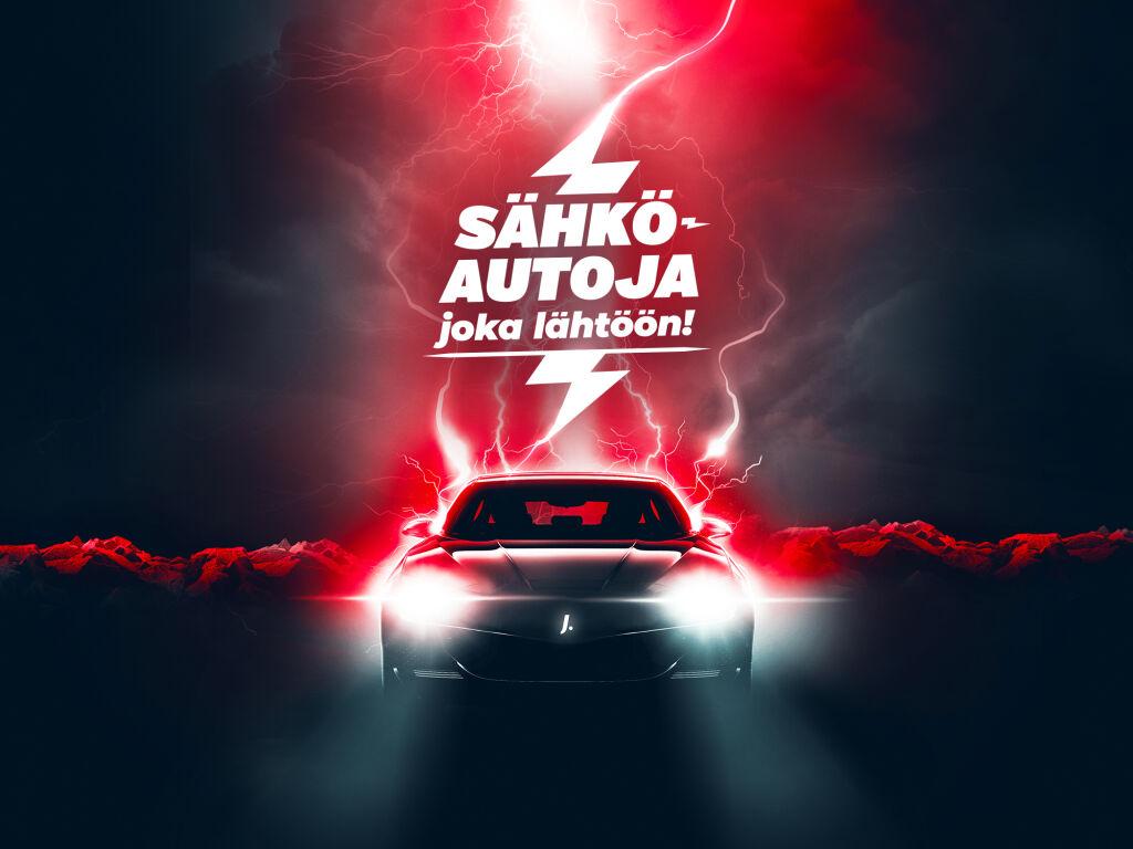 Sähköinen autovalikoima täynnä uusia ja käytettyjä sähköautoja!