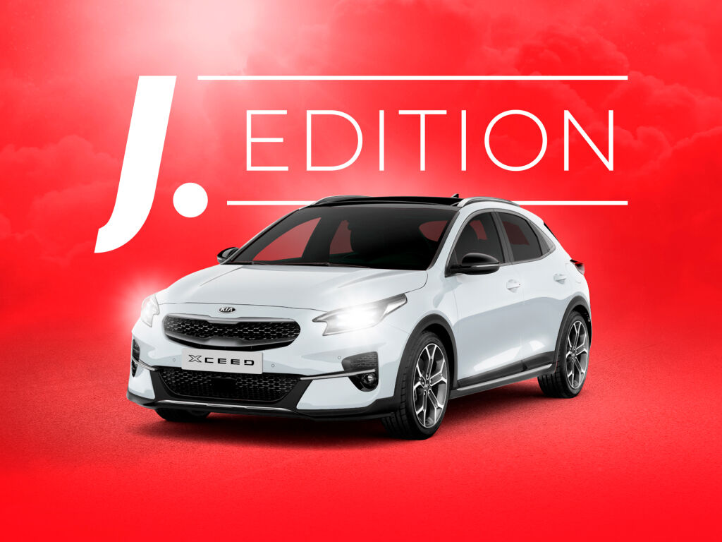 Kia XCeed J. Edition erikoishintaan!