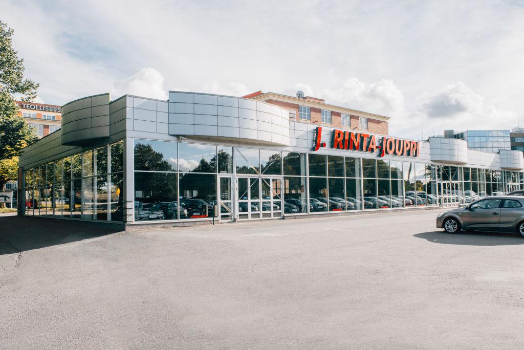 J. Rinta-Jouppi Tampere, Hatanpään valtatie