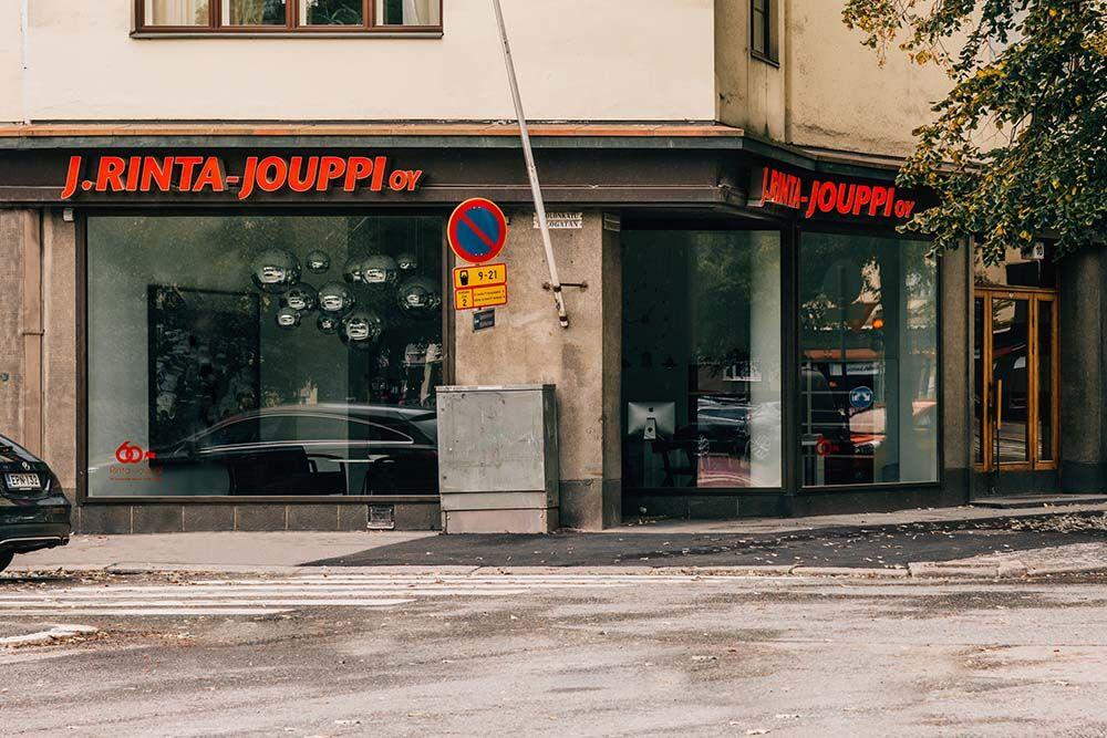 J. Rinta-Jouppi Helsinki, Taka-Töölö, Autojen ostotoimisto