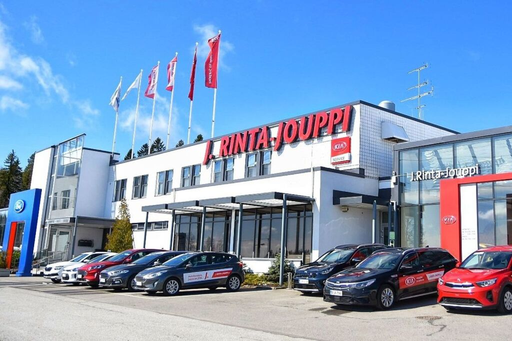 J. Rinta-Jouppi, Kuopio - Autoliike ja autohuolto