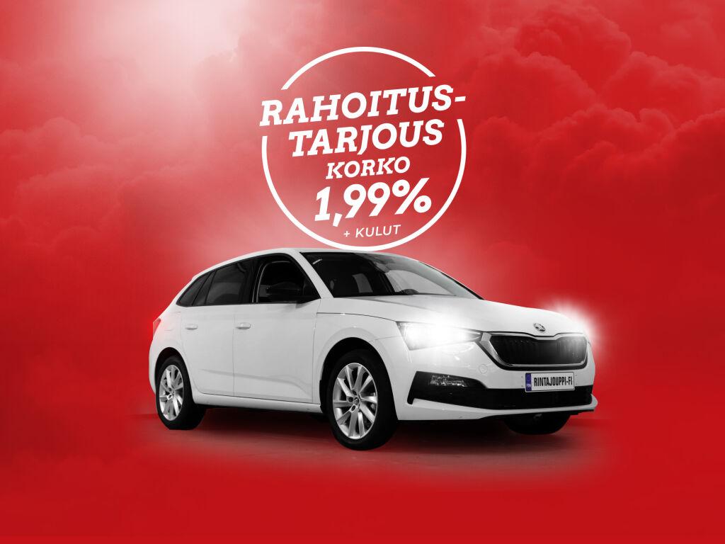 Erä Škoda Scala -autoja erikoistarjouksessa korko 1,99% + kulut!