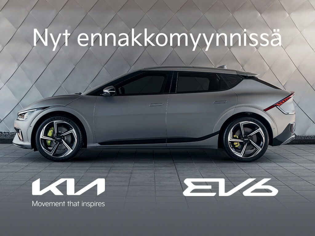 Uusi Kia EV6 – nyt ennakkomyynnissä!